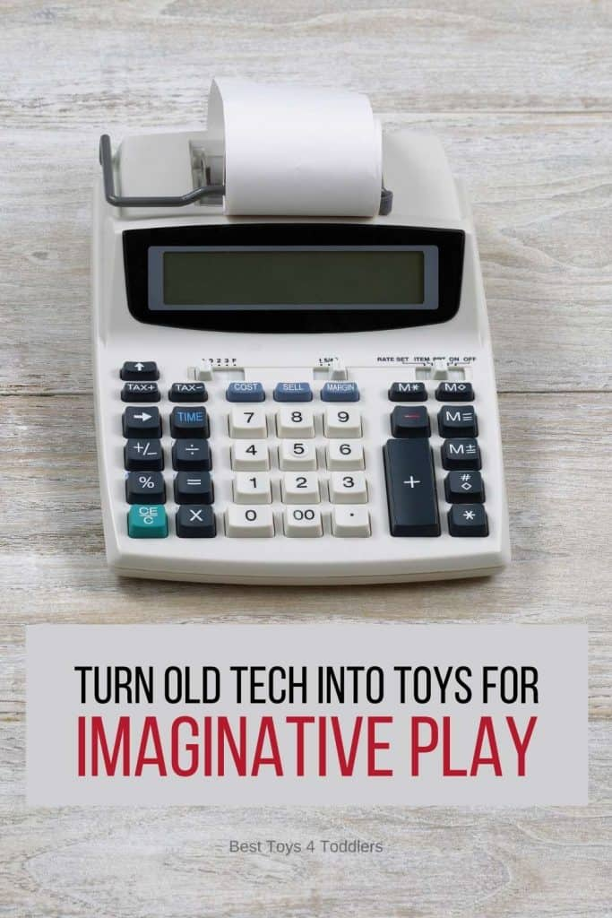 Repurpose Old Technology into Toys for Imaginative Play