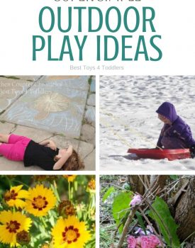 Super simple outdoor play ideas