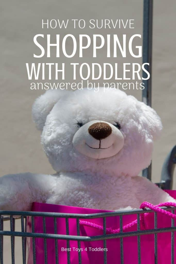 Surviving Shopping with Toddlers - parenting tips by parents who survived