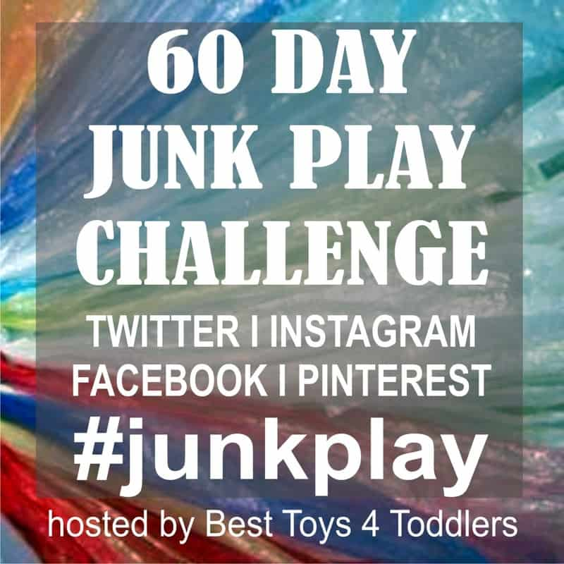 60 Day Junk Play Challenge - repurposing 60 different materials from trash bin for play