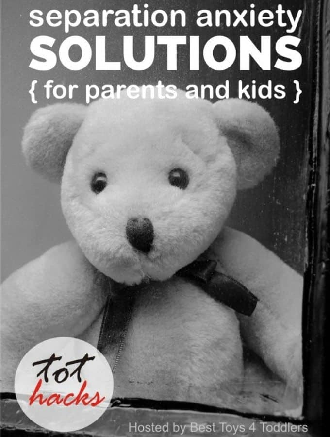 Tot Hacks - Separation Anxiety Solutions (for parents and toddlers), real advices by parents who experienced separation issues with their children