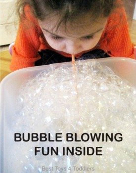 Fun with Blowing Bubbles Inside