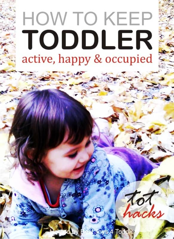 Ideas to keep toddlers active, happy and occupied during day and help them fall asleep easier and faster at night.