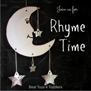 Join us every second Wednesday for Rhyme Time with 6 blogs sharing learning and play acitivities