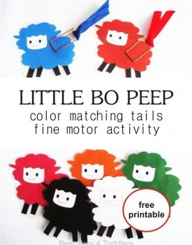 Little Bo Peep Color Match