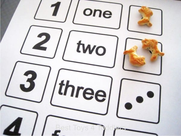1-2-3-4-5 nursery rhyme counting