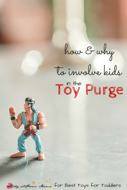 How and Why to Involve Kids in the Toy Purge