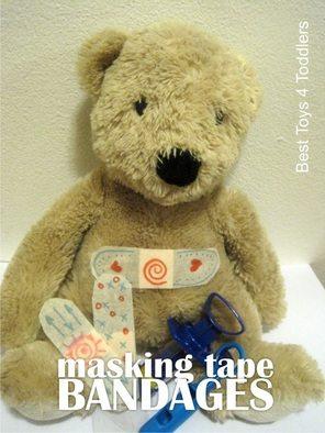Masking Tape Bandages