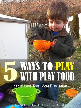 5 Ways to Play with Play Food