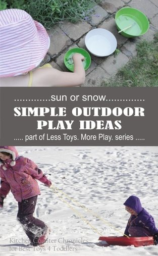 Simple Outdoor Play Ideas