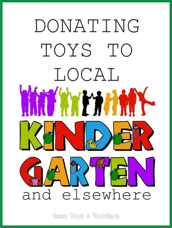Donating Toys to Local Kindergarten