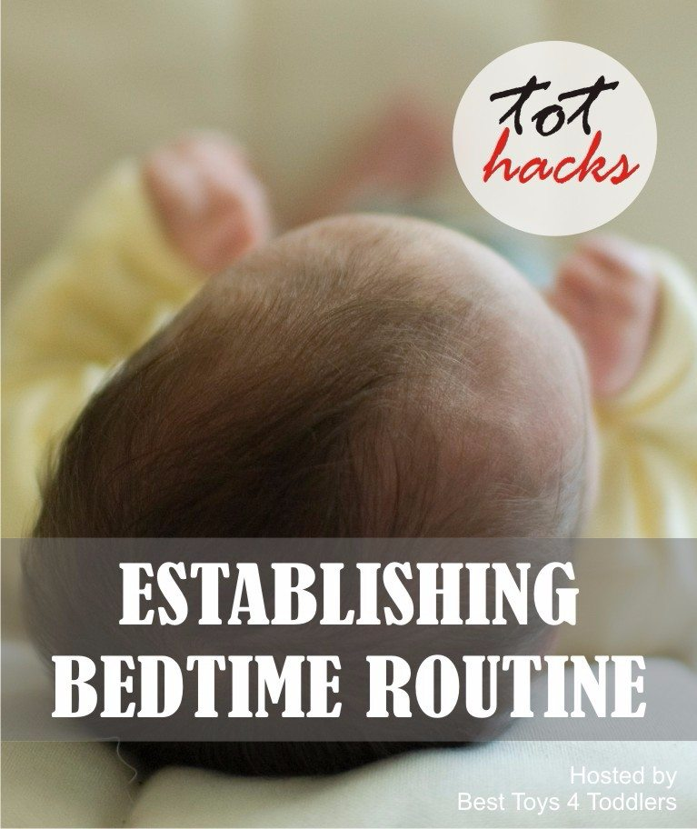 Tot Hacks - Establishing Bedtime Routine with Toddlers, tips shared by parents #tothacks #parentingtips #toddlers #sleeping #bedtimeroutine