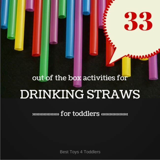 Out of the box drinking straw play and learn ideas for kids