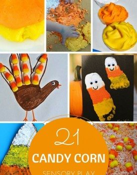 21 Candy Corn Sensory Play Ideas for Kids