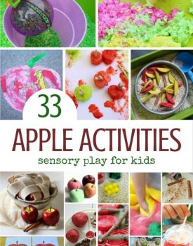 33 Sensory Apple Activities for Kids to Enjoy this Fall