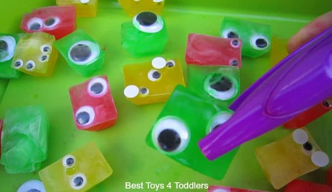 Jumbo Tweezer ice cube monsters