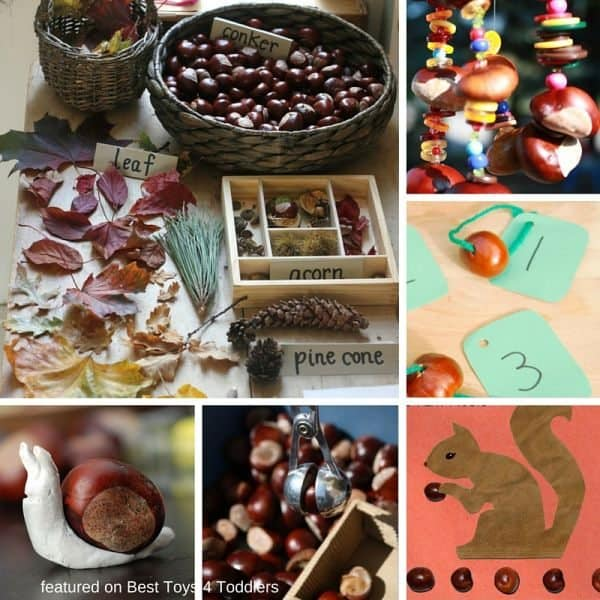 33 fun ways to craft and play with chestnuts!