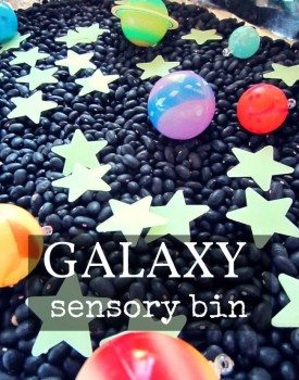 Galaxy Sensory Bin