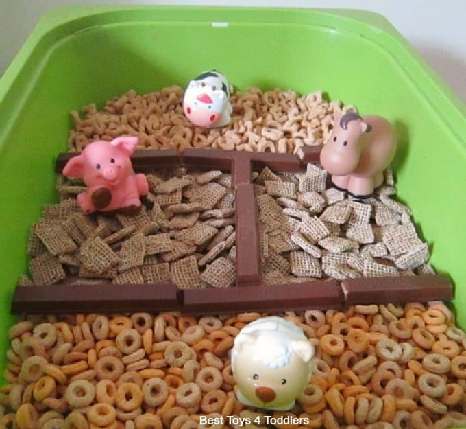Sorting farm yard animals