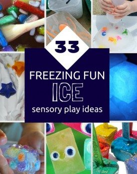 33 Freezing & Fun Ice Sensory Play Ideas for Kids