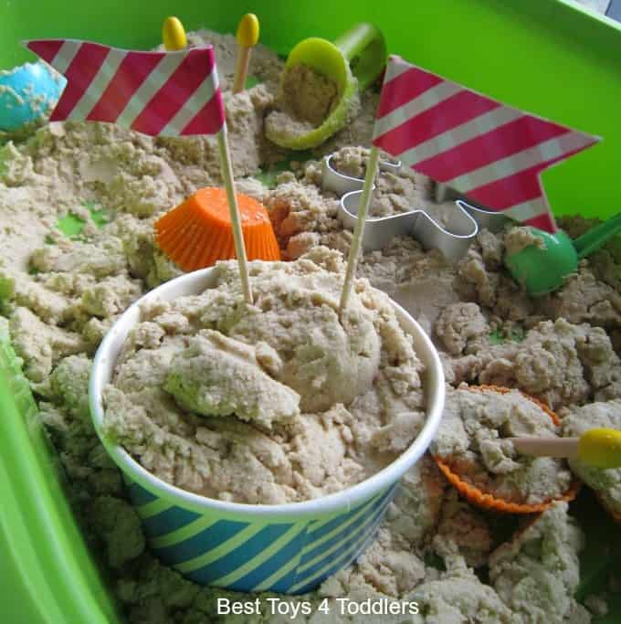 Kinetic sand icecream
