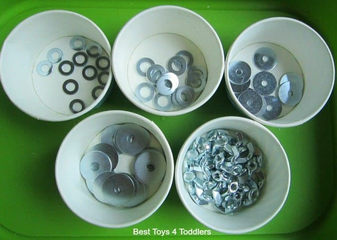 Sorting washers