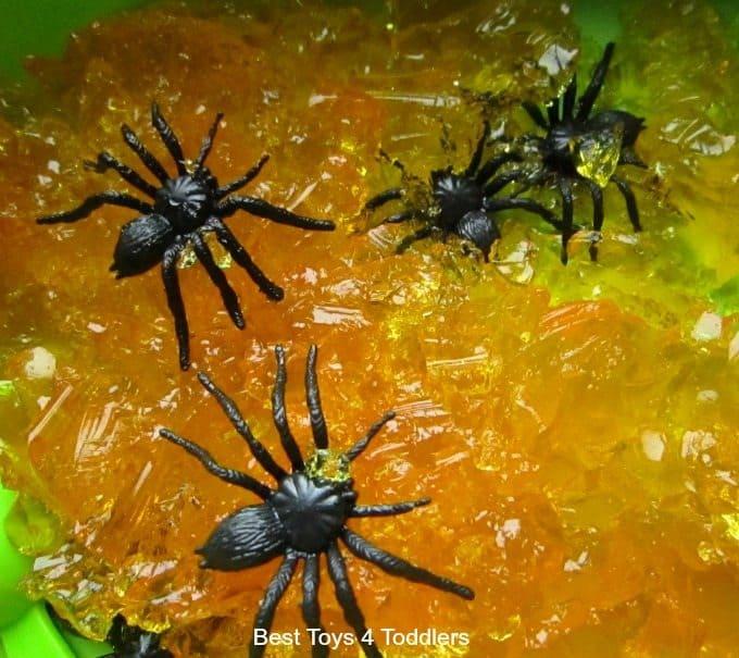 Spiders and jello