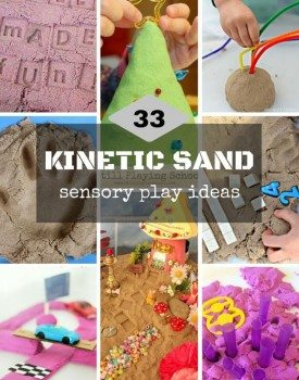 33 Kinetic Sand Play Ideas for Kids