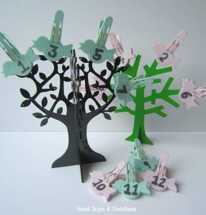 Jewelry tree fine motor skills