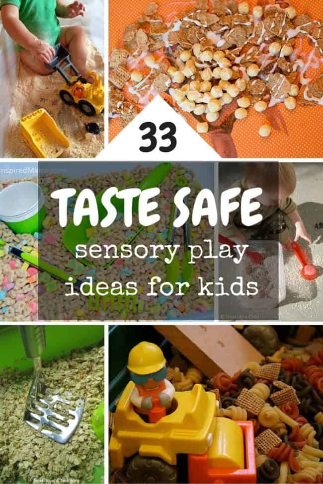 Taste Safe Sensory Play Ideas For Babies Toddlers And