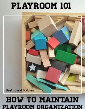How to Maintain Playroom Organization