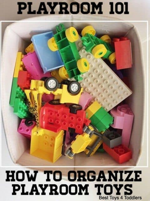 Best Toys 4 Toddlers - Playroom 101: How to organize playroom toys