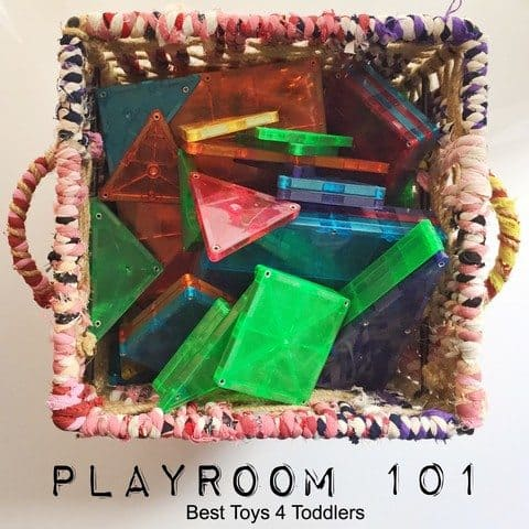 Best Toys 4 Toddlers - Playroom 101 series: solutions for toy organization