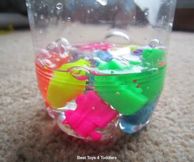 Neon transport beads
