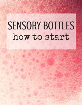 How to Make Your First Sensory Bottle?