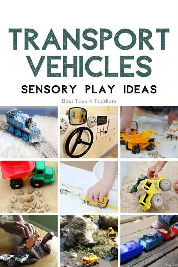 Transport Vehicles Sensory Play Activities for babies, toddlers and older kids #sensoryplay #sensoryactivities #playideas #transportplay #toycars #toddlerplay #babyplay