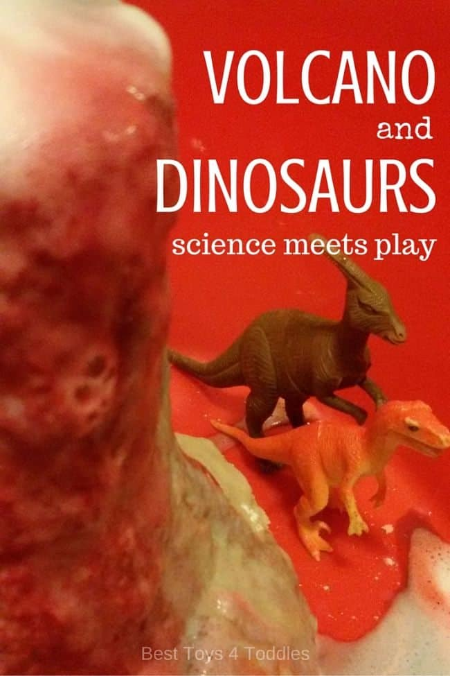 Best Toys 4 Toddlers - Dinosaur Rescue Mission: Save Dinos from Lava! Science activity combined witn invitation to play.