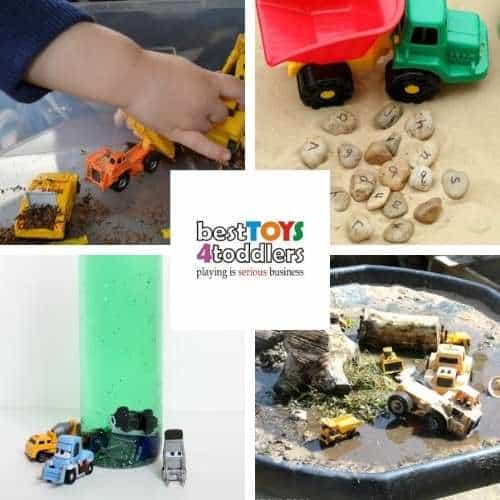 construction vehicles sensory activities