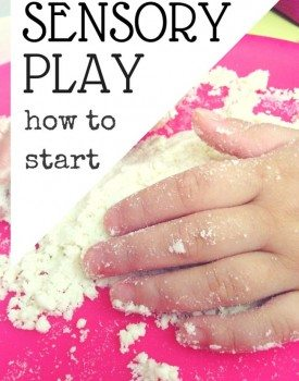 How to Get Started with Sensory Play