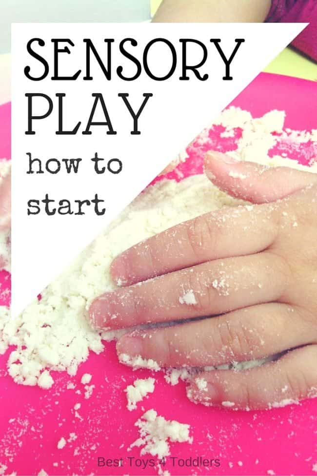 Kids enjoy sensory play tremendeously! Even kids without sensoy issues find isensory play interesting and engaging! Here you will find information how to get started with sensory play with your kids!