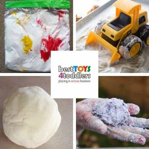shaving foam sensory play - mess-free color mixing, sand dough, homemade playdough recipe, foam dough