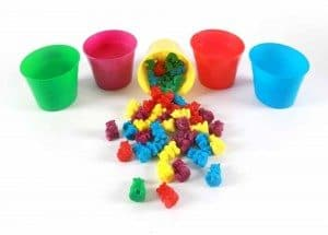 Best Toys 4 Toddlers - Top 10 Sensory Toys for 3 Year Olds - 50 Counting Bears