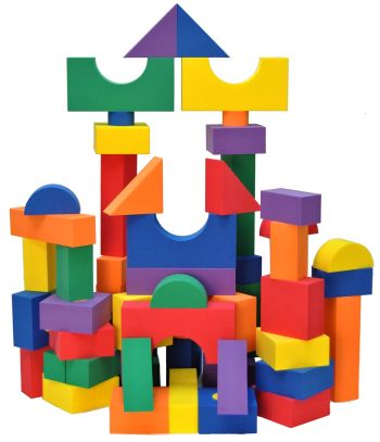Best Toys 4 Toddlers - Top 10 Sensory Toys for 2 Year Olds - foam blocks