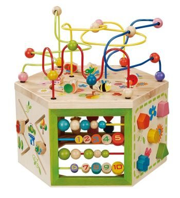 Best Toys 4 Toddlers - Top 10 Sensory Toys for 1 Year Olds - Garden Activity Cube