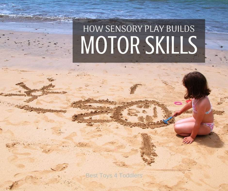 Connection between sensory play and building motor skills