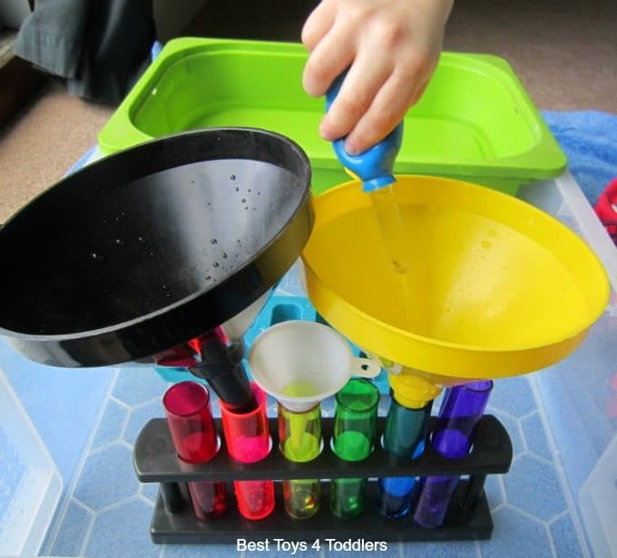 Jumbo Dropper sensory play