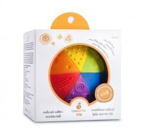 Best Toys 4 Toddlers - Toys for 1 Year Olds - Natural Rubber Sensory Ball