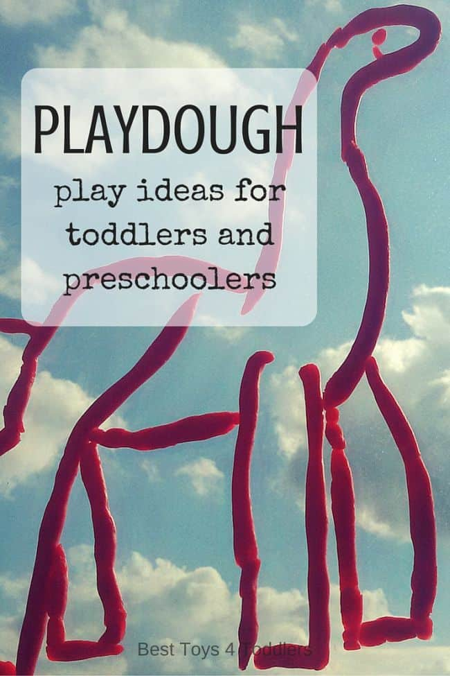 Best Toys 4 Toddlers - 33 Amazing ideas for toddlers and preschoolers with playdough (store-bought or homemade)
