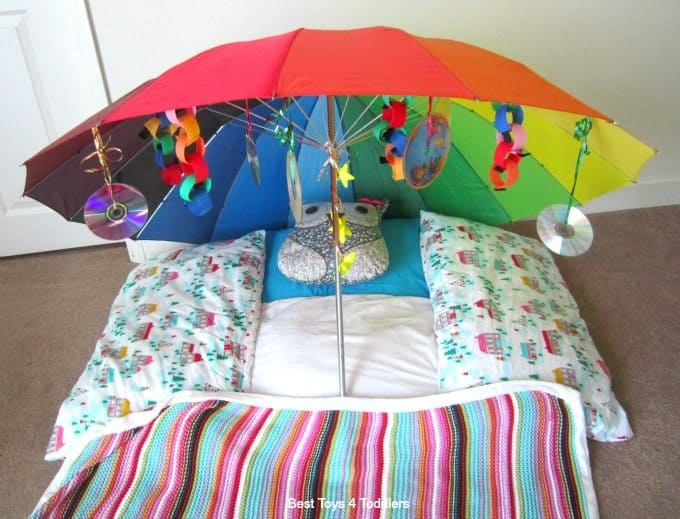 Umbrella sensory fort