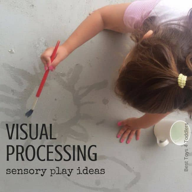 Best Toys 4 Toddlers - Sensory play ideas for kids to work on visual processing